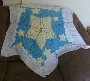 starry starry night baby afghan free crochet pattern
