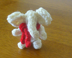 tiny white elephant free toy knitting pattern