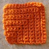 mitered square free crochet tutorial