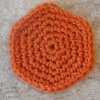 Simple Circle free crochet pattern