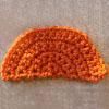 semicircle free crochet tutorial